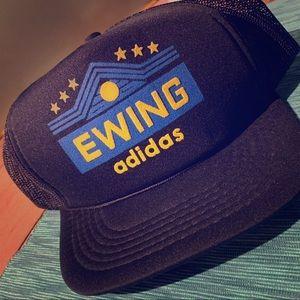 VINTAGE Ewing Adidas Snap Back Hat